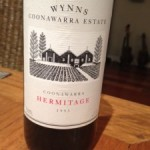 Wynns Coonawarra Estate Coonawarra Hermitage 1993 13.5%