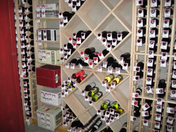 building my wine cellar